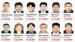 Los más buscados: homicidas y extorsionadores encabezan lista - Noticias de milagros asián