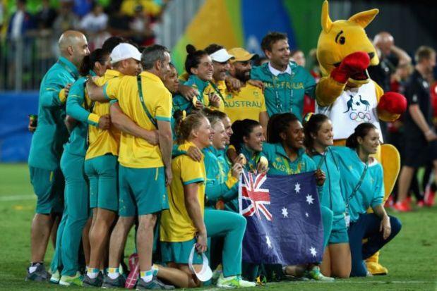 [Foto] Río 2016: la emotiva propuesta de matrimonio en rugby femenino
