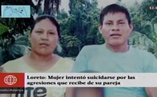 Mujer trató de suicidarse por constante maltrato de su pareja