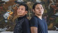 Artistas huitotos pintan la memoria de su pueblo