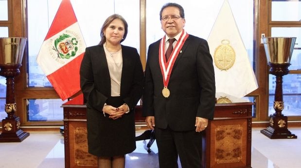 Anuncio se hizo durante reunión de trabajo del Fiscal de la Nación con la nueva ministra de Justicia y Derechos Humanos. (Foto: Difusión)