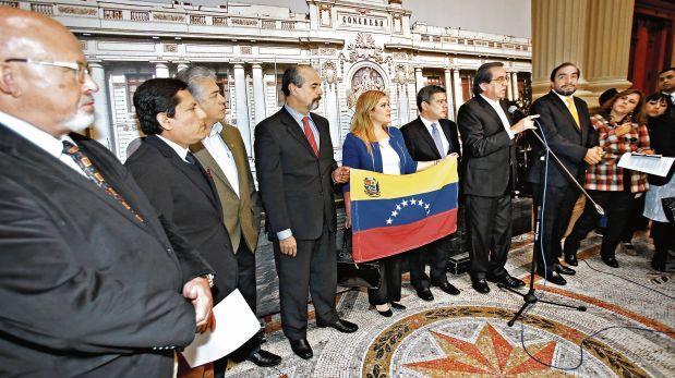 Congreso de la República: Aprueban moción a favor de Venezuela