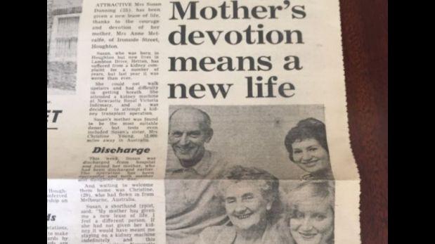 El trasplante se llevó a cabo en el Hospital Royal Victoria de Newcastle, Inglaterra, en 1973. (Foto: BBC)
