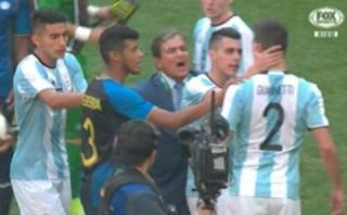Honduras eliminó a Argentina y casi termina en bronca [VIDEO]