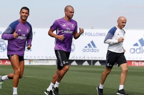 Cristiano Ronaldo terminó vacaciones: ya entrena en Real Madrid