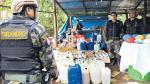 Vraem: decomisan droga que iba a ser enviada a Bolivia y Brasil - Noticias de cocaína líquida