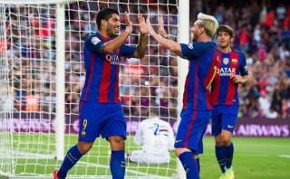 Barcelona venció 3-2 a la Sampdoria y ganó Trofeo Joan Gamper