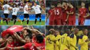 Río 2016: conoce las llaves de cuartos de final de fútbol
