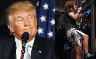 ¿Qué quería el hombre que trepó la Torre Trump? [VIDEO]