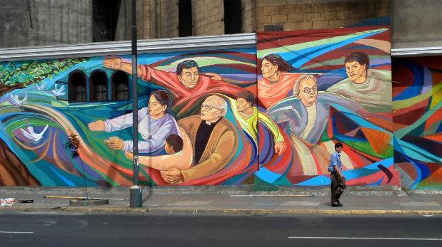 Indecopi sancionó a Municipalidad de Lima por murales borrados