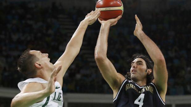 Argentina cayó 73-81 ante Lituania por básquet en Río 2016
