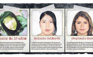 #NiUnaMenos: tres mujeres asesinadas en solo seis días