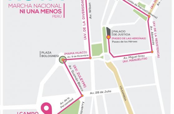 #NiUnaMenos: así fue la marcha contra la violencia a la mujer