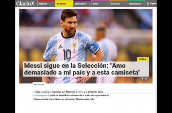 Messi: así informaron los medios del mundo sobre su regreso