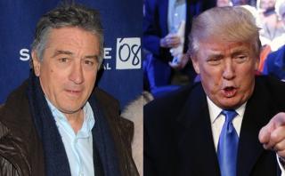 """Robert de Niro: """"Donald Trump está completamente loco"""""""