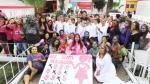 #NiUnaMenos: la emotiva manifestación de presas de Santa Mónica - Noticias de monica zevallos