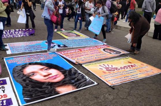 #NiUnaMenos: imágenes de la concentración pre marcha [FOTOS]