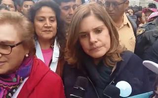 Mercedes Aráoz: Ni una menos, más mujeres vivas con vida justa