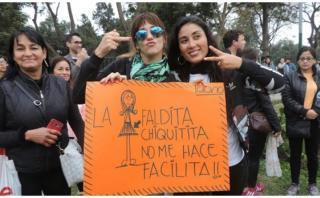 #NiUnaMenos: Figuras de la farándula dijeron presente en marcha