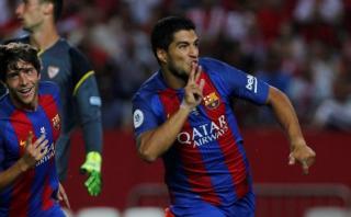 Barcelona ganó 2-0 a Sevilla por la Supercopa de España
