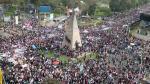 #NiUnaMenos: así se desarrolló la marcha en Lima [FOTOS] - Noticias de raimond manco