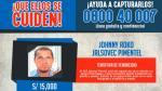 Recompensa de S/15 mil por acusado de tentativa de feminicidio - Noticias de junior saavedra