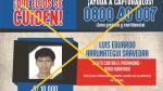 Capturan en Piura a integrante de lista de los más buscados - Noticias de luis zapata