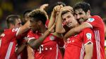 Bayern Múnich campeón de Supercopa: 2-0 a Borussia Dortmund - Noticias de pierre aubemayang