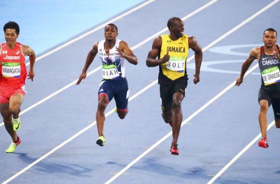 Usain Bolt ríe en Río 2016: la imagen de la que todos hablan