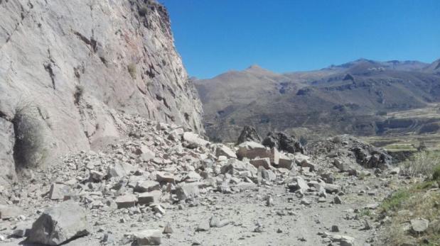 Colegios de Caylloma suspenden clases tras sismo en Arequipa