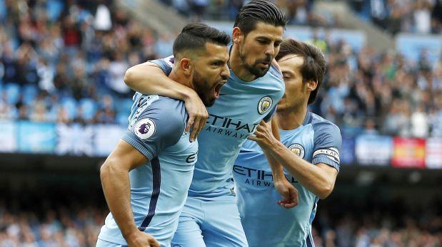 De la mano de Sergio Agüero, el City acaricia la Champions