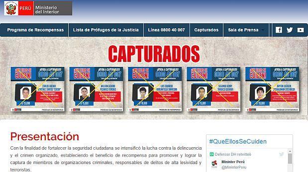 Ministerio del interior crea portal web con informaci n de for Pagina web ministerio interior