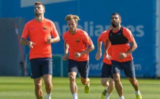 La magia estuvo presente en el entrenamiento del Barcelona
