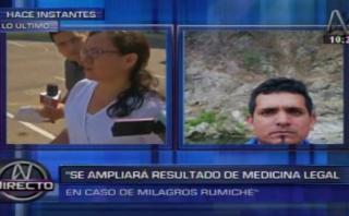 Aseguran que ampliarán informe médico legal tras agresión