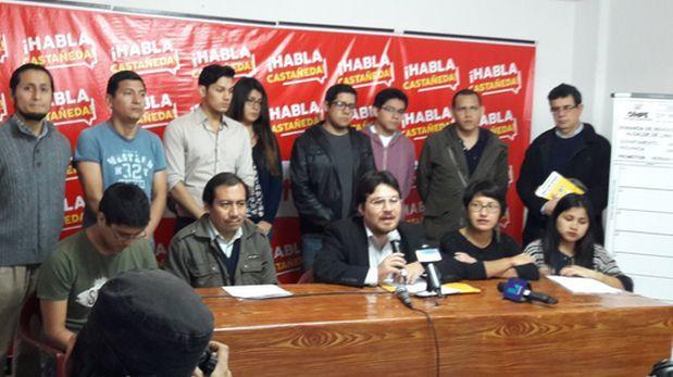 Se inició la recolección de firmas para interpelar a Castañeda
