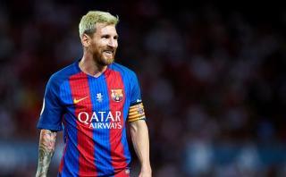 Lionel Messi marcó de cabeza 3-0 ante Sevilla por Supercopa