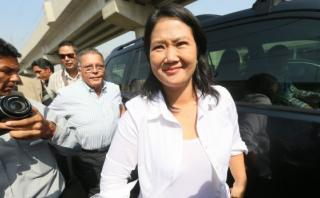 "Keiko: ""Fallo fortalece decisión de continuar en vía judicial"""