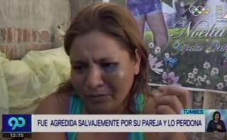 Tumbes: mujer intentó defender a su agresor con esta versión