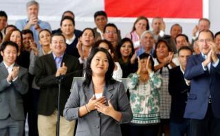 """Keiko: """"Fuerza Popular ha demostrado que el Perú está primero"""""""