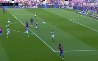 Lionel Messi y su primer golazo en la Liga española 2016-2017