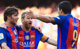 Barcelona apabulló 6-2 al Real Betis con Hat Trick de Suárez