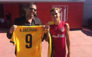Antoine Griezmann se convirtió en socio del Peñarol de Uruguay