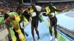 Usain Bolt: divertido baile grupal al ganar 4x100m en Río 2016 - Noticias de yohan blake
