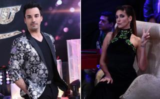 """""""El gran show"""": Tilsa Lozano llamó patán a Santi Lesmes [VIDEO]"""