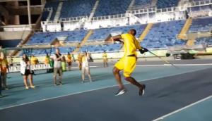 ¿Usain Bolt ganaría el oro con la jabalina? Mira este video