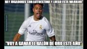 Real Madrid: jocosos memes del debut triunfal de los 'blancos'