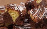 Aprende a preparar un delicioso brownie al cheesecake [VIDEO]