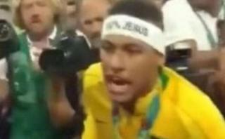 Neymar explotó contra aficionado brasileño en final olímpica