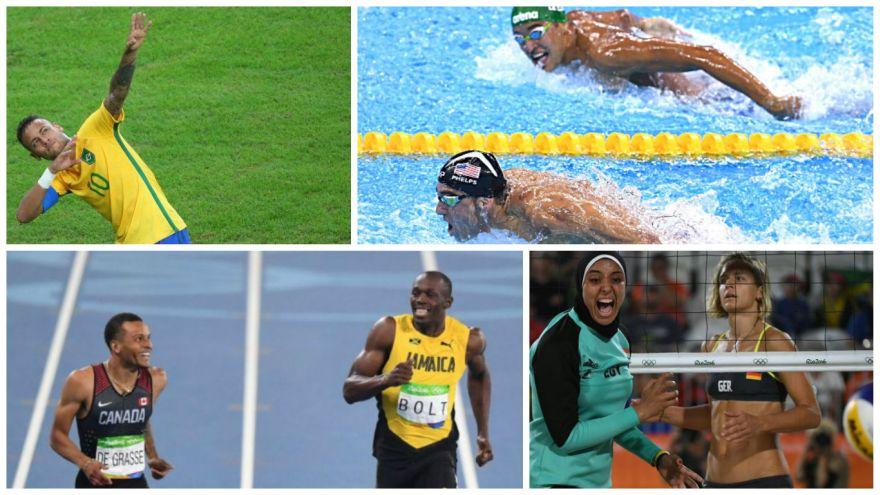 Río 2016: los mejores momentos que dejaron los JJ.OO. [FOTOS]