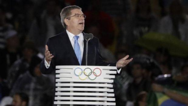 El presidente del Comité Olímpico Internacional, Thomas Bach, dio un balance positivo de las Olimpiadas de Río 2016. (Foto: AP)